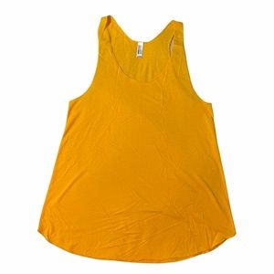 NEW American Apparel 50/50 Collection Yellow Tank